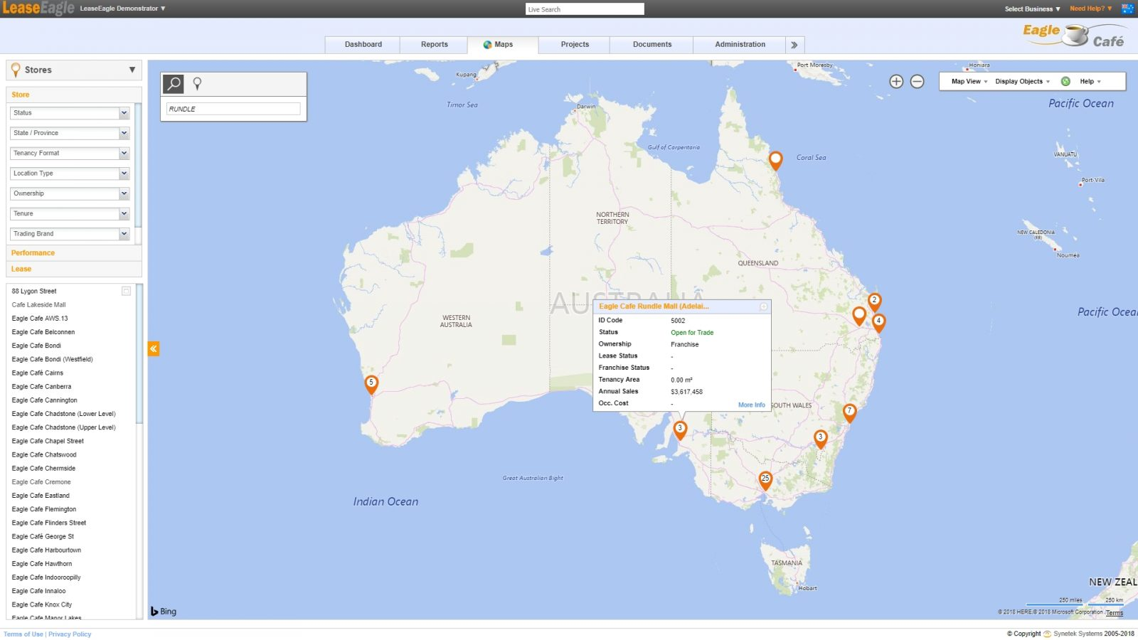 Lease location management australia