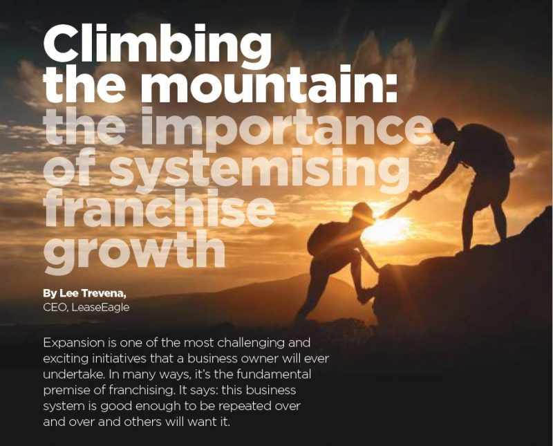 Systemising franchise growth