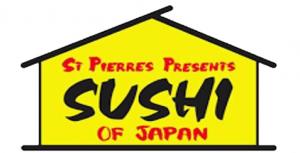 St Pierre's Sushi logo